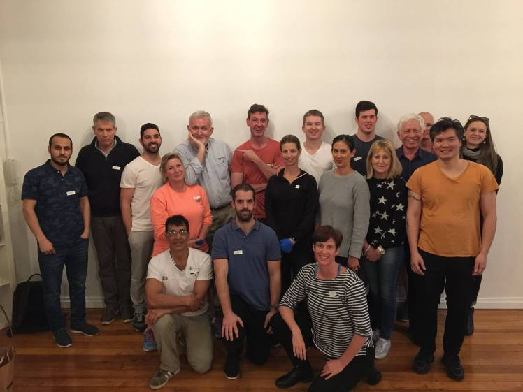 Dry Needling for Common Conditions Masterclass group photo